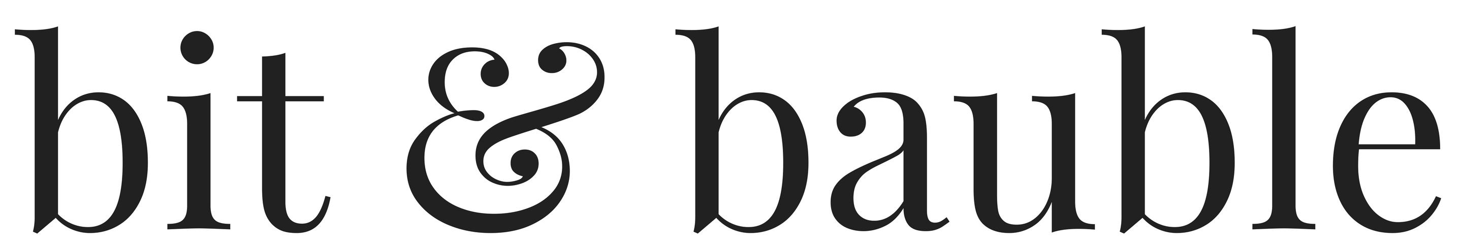 Bit & Bauble