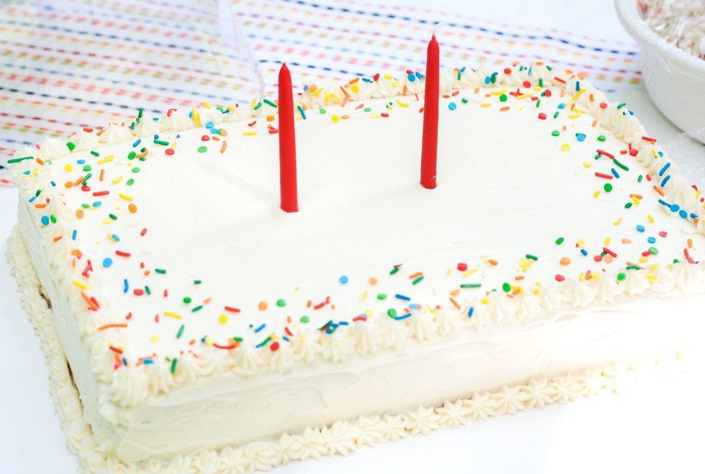 Cool Confetti Sheet Cake Bit Bauble Funny Birthday Cards Online Elaedamsfinfo