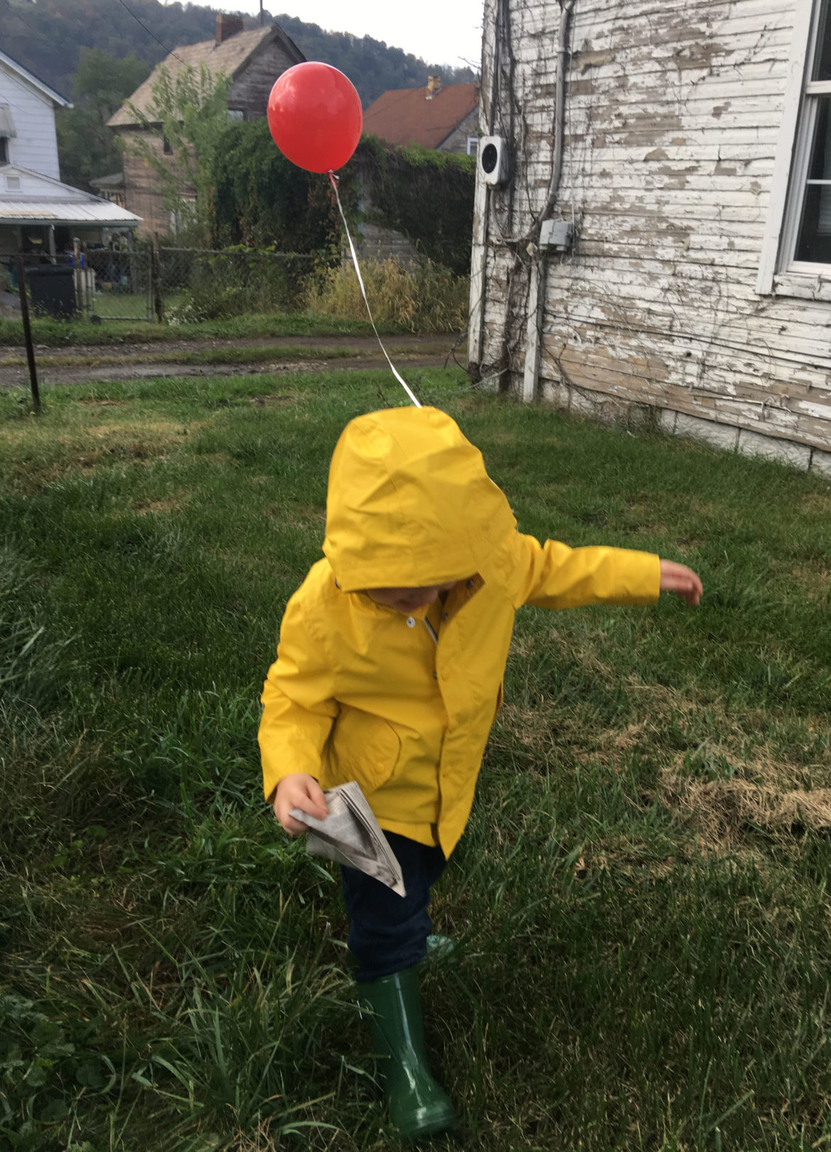 easy toddler halloween costume its georgie