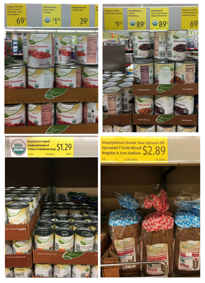 affordable organic food ingredient grocery aldi