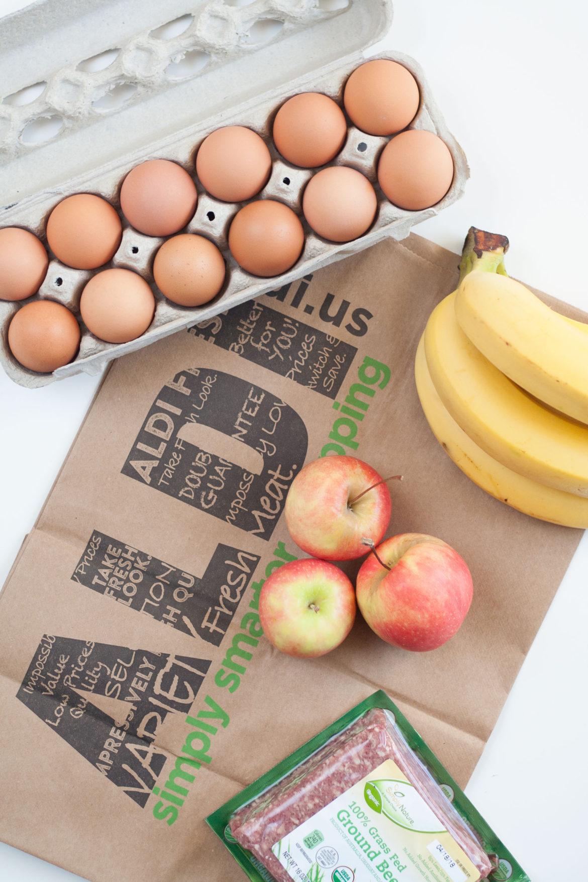 affordable organic food ingredient shopping aldi