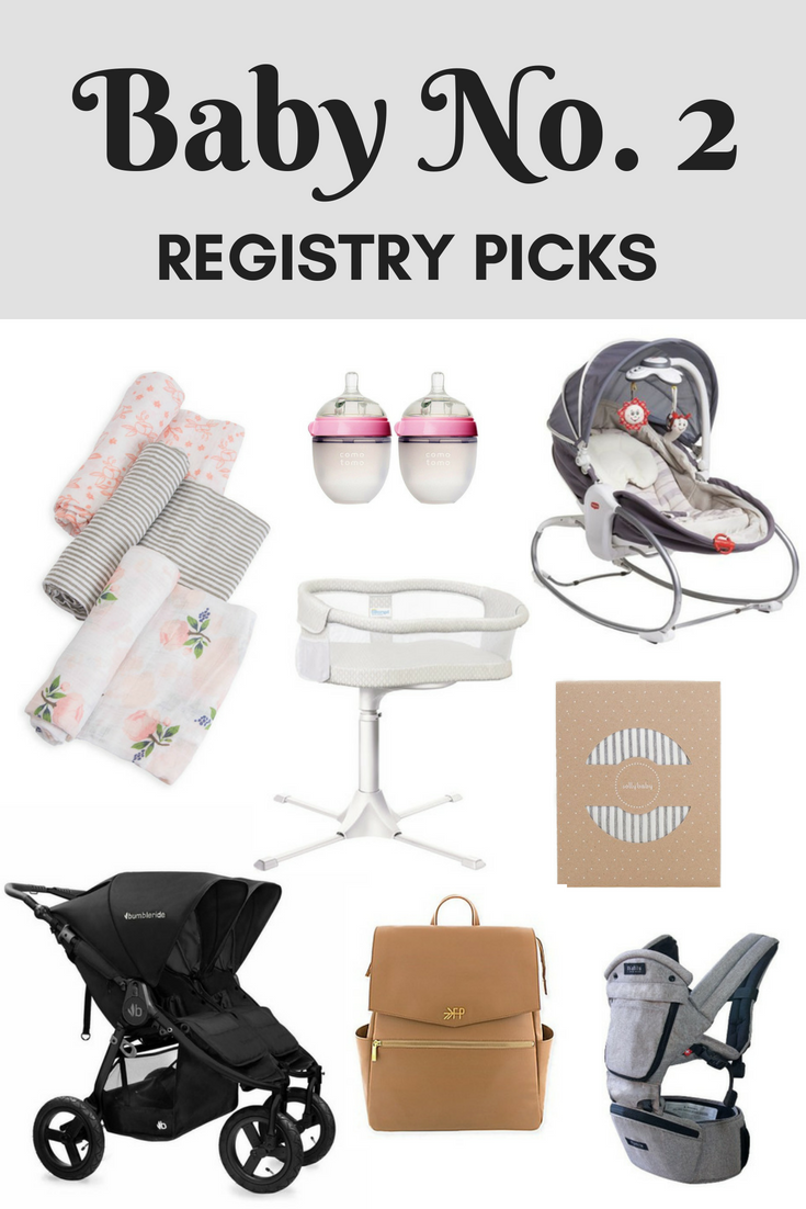 baby registry essentials second number 2 chic trendy girl
