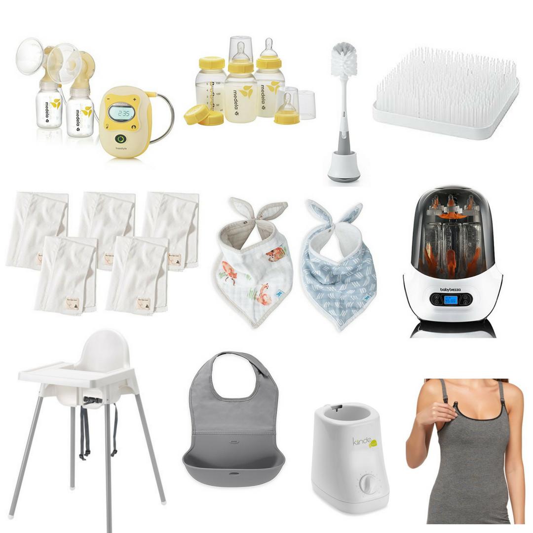 baby registry essentials best top baby gear items feeding