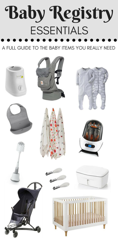 baby registry essentials best top baby gear items