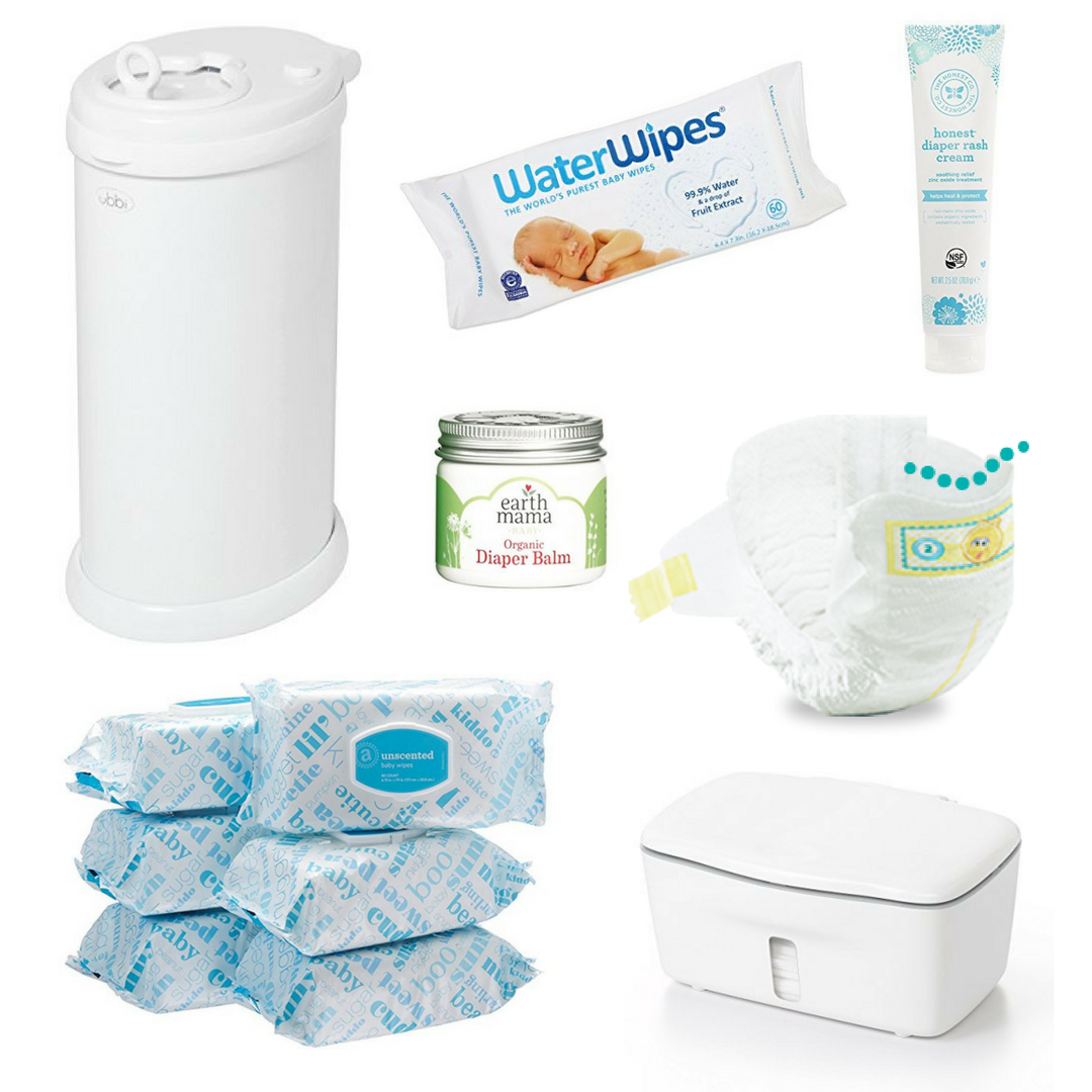 baby registry essentials best top baby gear items diapers wipes