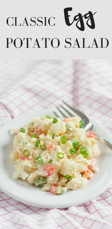 best classic egg potato salad recipe