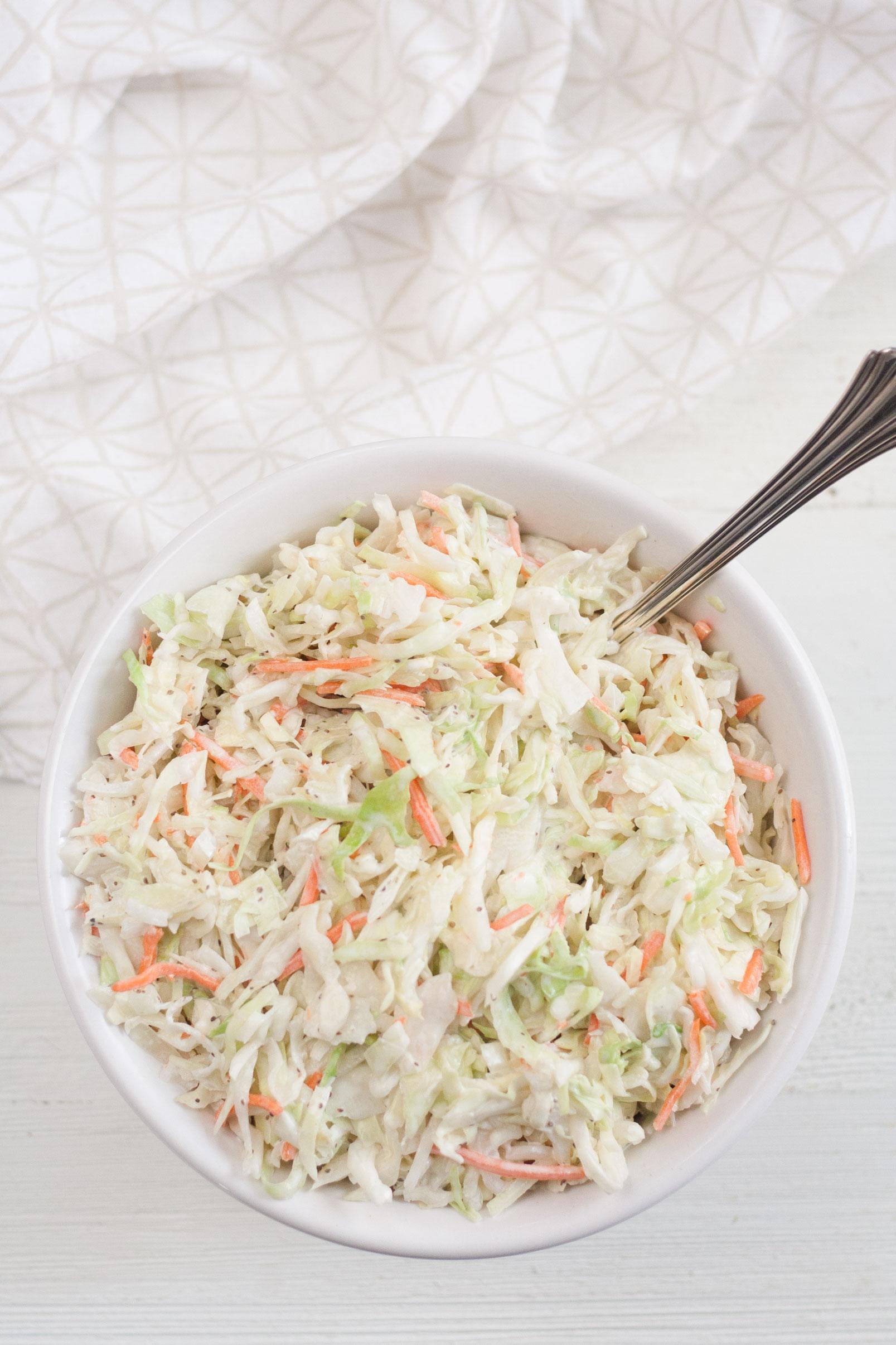 best classic creamy coleslaw slaw recipe
