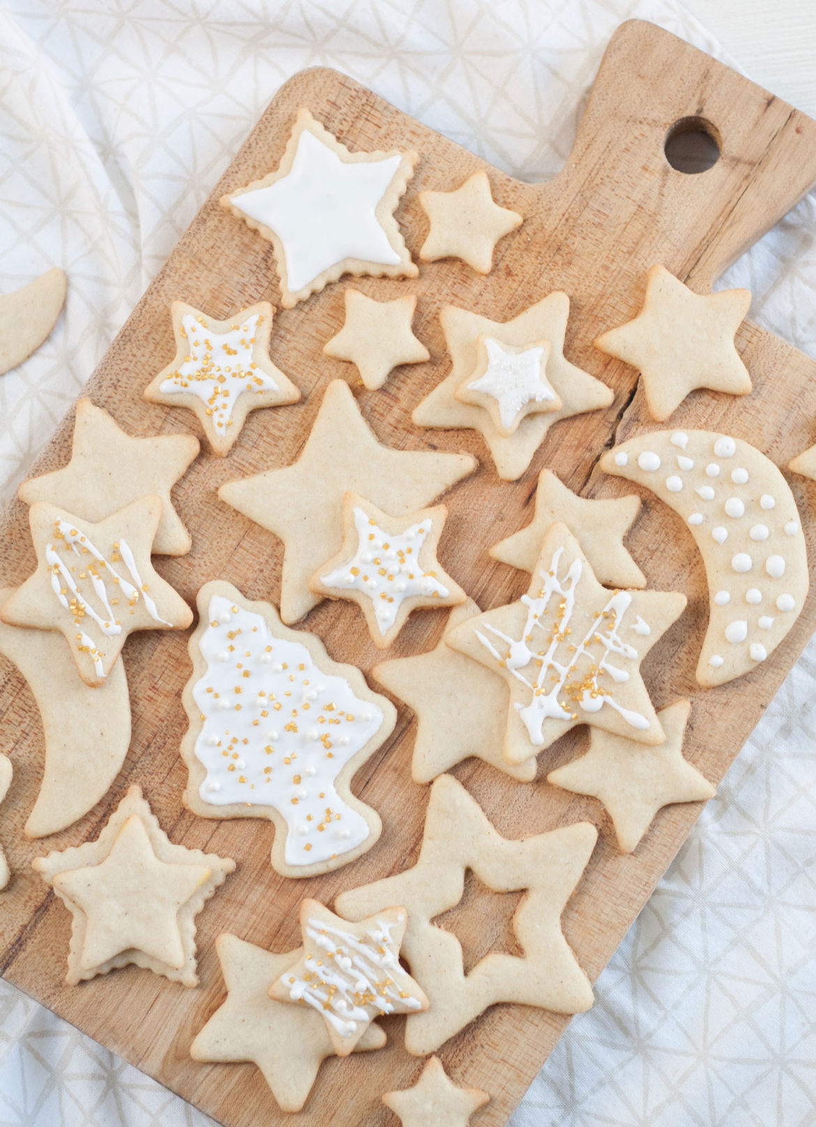 best Christmas buttery cutout sugar cookie recipe