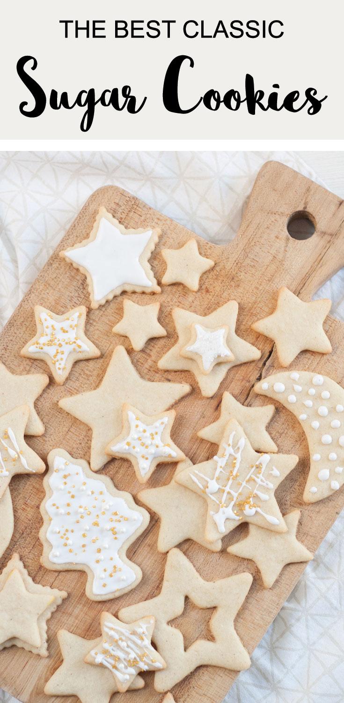 best Christmas buttery cutout sugar cookie recipe