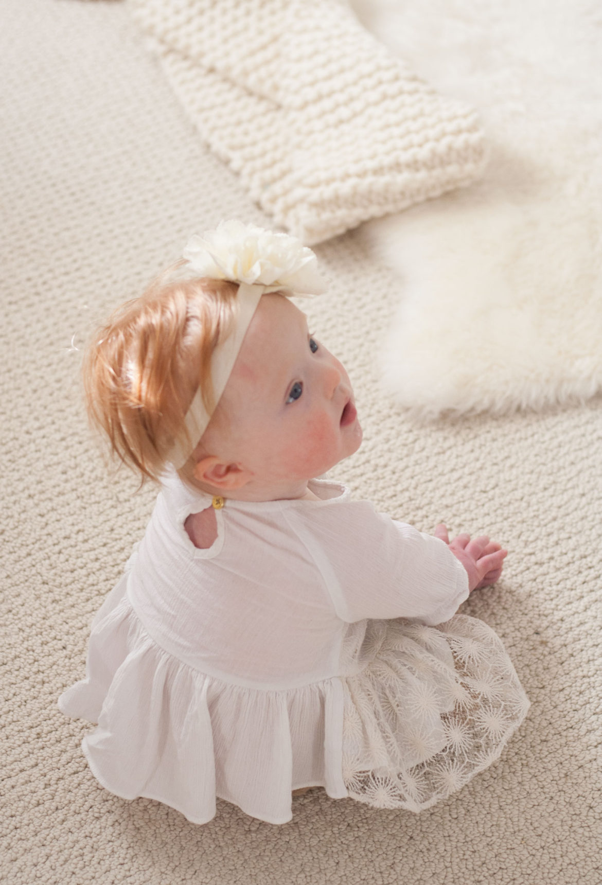 bit-and-bauble baby seven 7 month update elsa down syndrome