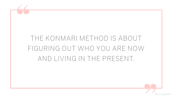 konmari method kondo the life-changing magic of tidying up spark joy decluttering tips review quotes
